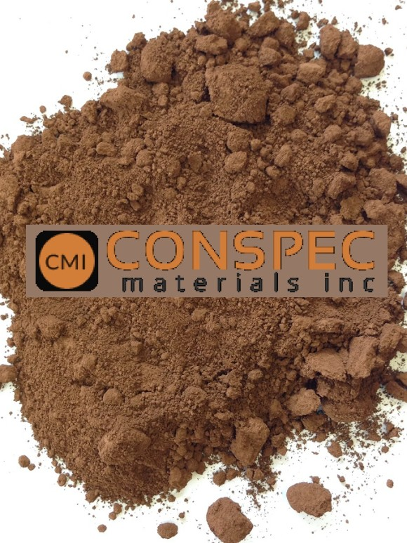 Lambert Cement and Mortar Colors CMC 735 BROWN Colorant for Concrete Pigment Powders dye Conspec Materials