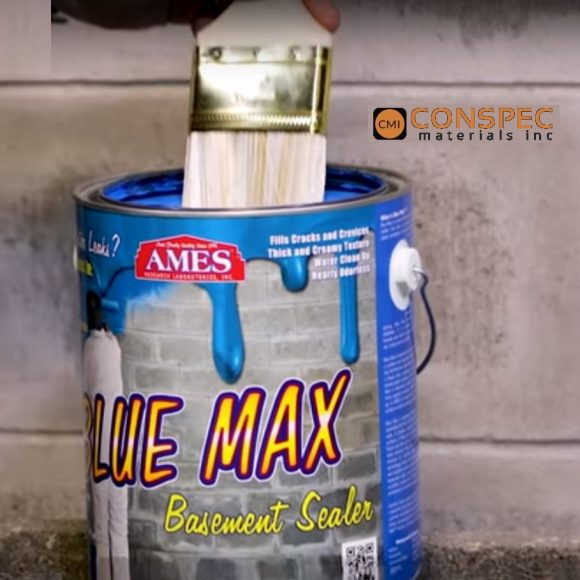 Ames Blue Max Waterproofing Can 1 gallon tampa florida hurricane protection block wall foundation