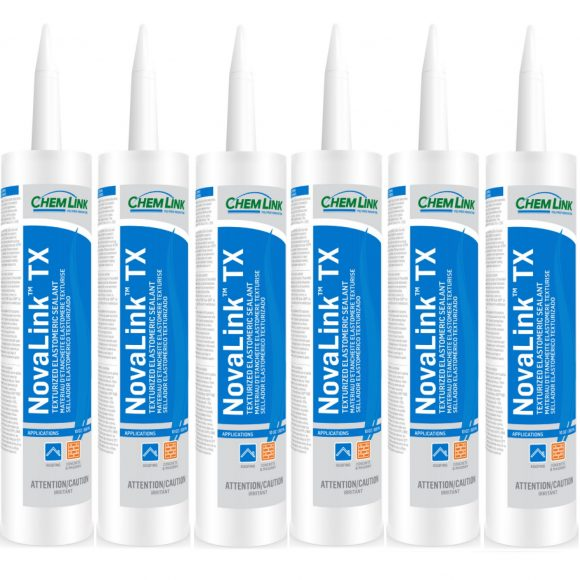 Chemlink Novalink TX Textured Sanded Sealant Polyether Roofing Waterproofing Conspec Materials Tampa Florida 6-PACK