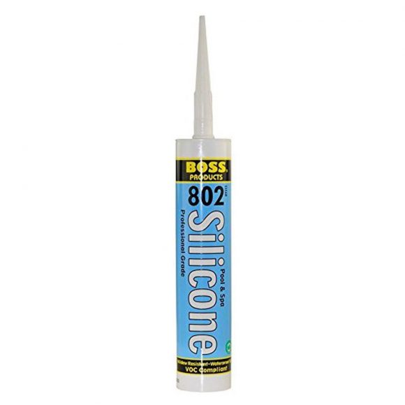 BOSS 802 Pool and Spa Silicone Sealant Tampa Florida Pool Leaks Repair