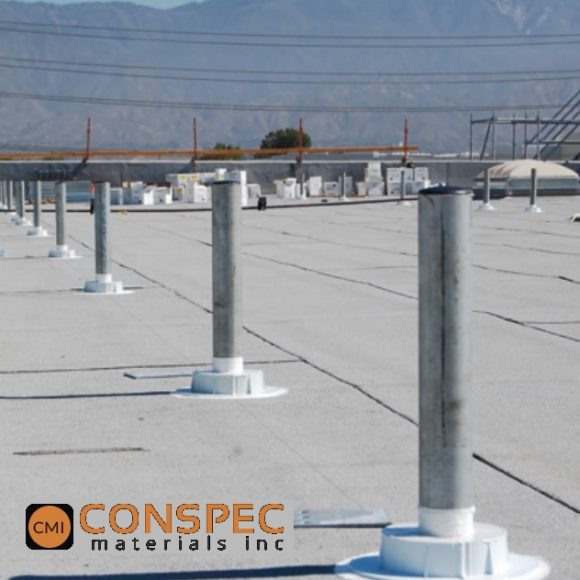 Chemlink E-Curb for roof solar penetration seals stanchions Quick Mount vent stacks mod bit roof Tampa Florida