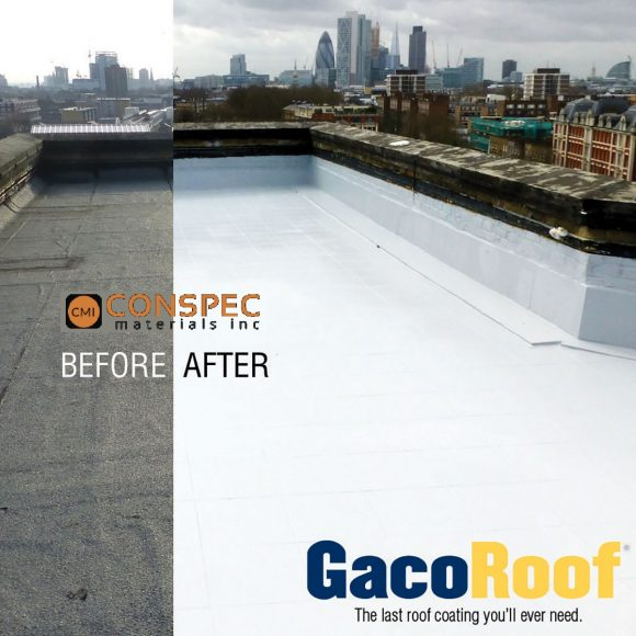 Gaco Roof GR-1600 Silicone Roof Coating Tampa Florida