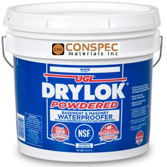 Drylok Cement Based Powdered Masonry Waterproofing White Thoroseal