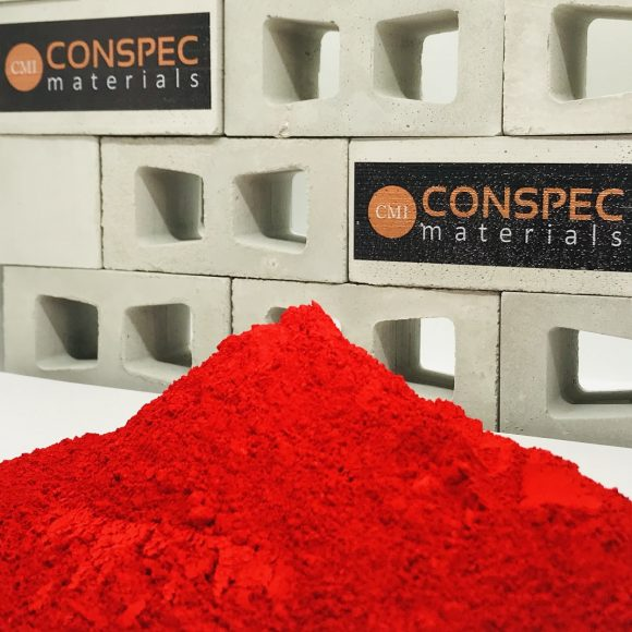 Conspec SUPER RED Colorant for Concrete Pigment powder dye Conspec Materials
