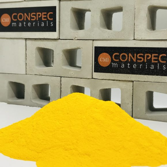 Conspec SUPER YELLOW Colorant for Concrete Pigment powder dye Conspec Materials