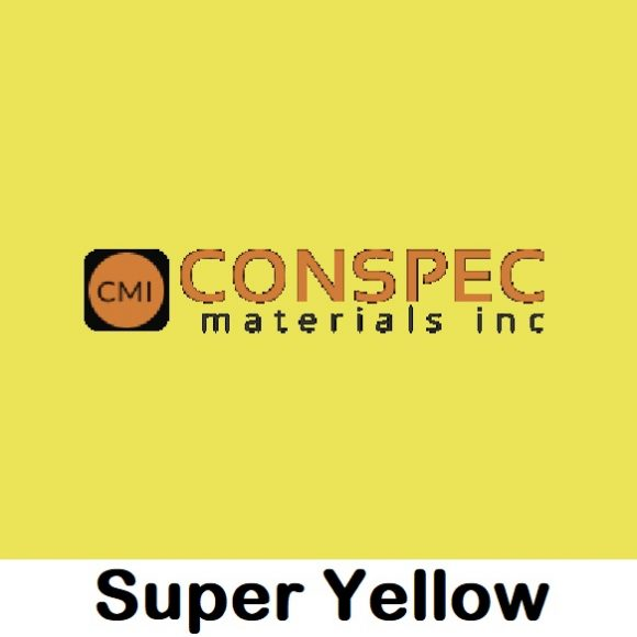 SUPER YELLOW CMC Conspec Color CURED 100 Percent Mix for cement and mortar grout concrete