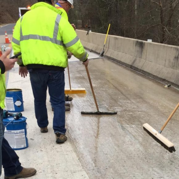 Crackbond Healer Sealer Concrete Repair Epoxy Bridge Deck Roadway Application