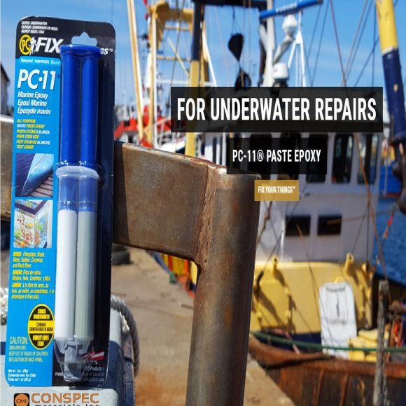 PC11 White Epoxy Marine Grade Epoxy For underwater repairs