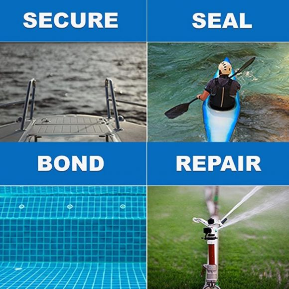 PC11 White Epoxy Marine Grade Secure Seal Bond Repair
