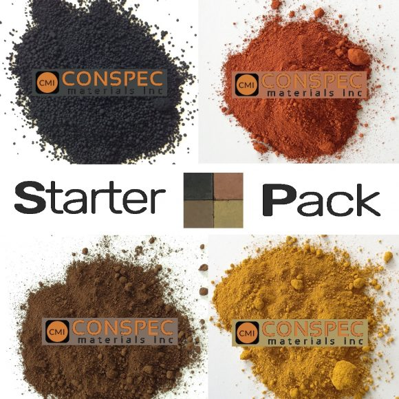 Lambert Cement and Mortar Colors CMC MIXED colors starter pack